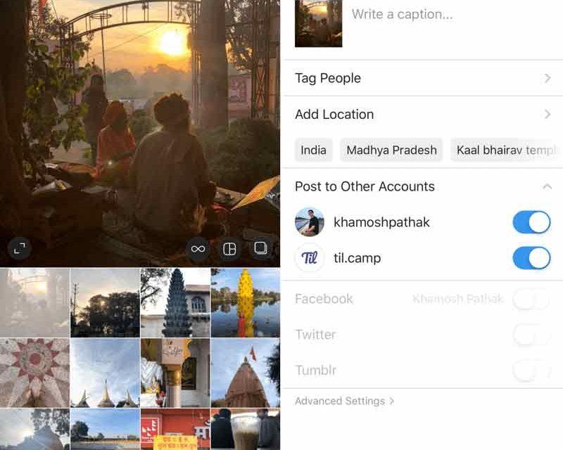 Birden Fazla Instagram Hesabında Aynı Anda Paylaşım Yapma
