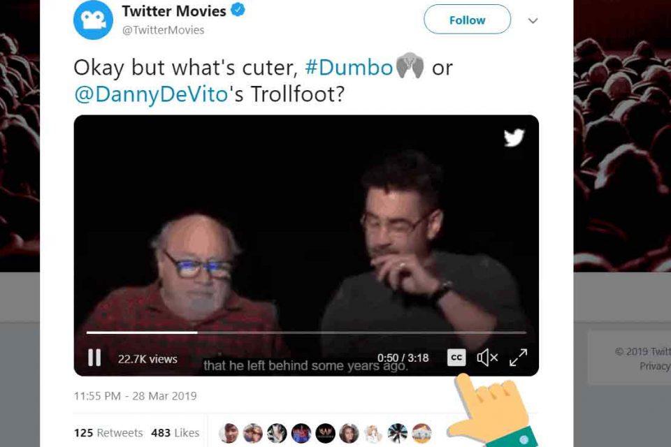 Twitter Altyazılı Kullanma