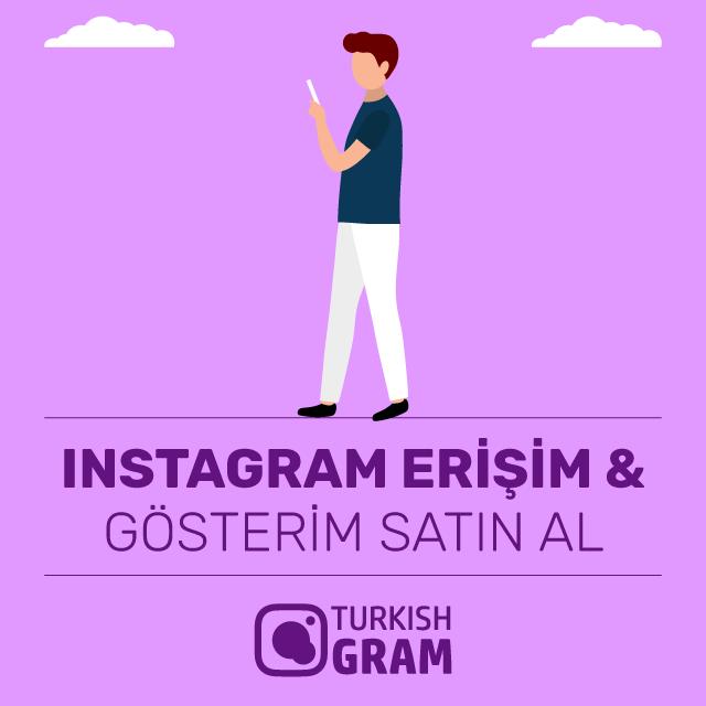 Instagram Erişim ve Gösterim Satın Al