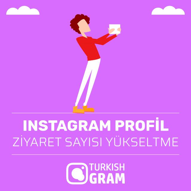 Instagram Profil Ziyaret Sayısı Yükseltme