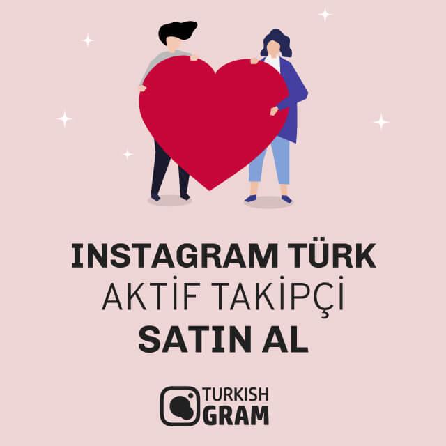 Instagram Türk Aktif Takipçi Satın Al